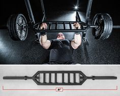 Heavy Duty Multi Grip Bar MG-1 - Powerlifting - Rogue Fitness