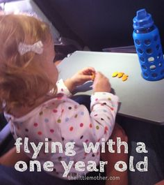 The Little Mother: Flying with a One Year Old