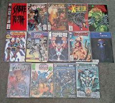 Various Comics - Lot of 17 - DC Image Marvel - #1 Issues! NM!
