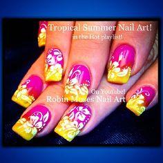 Ultra modern nail art videos in telugu. nails ideas by marlene on november ultra modern nail art Cute Easy Nail Designs, Ombre Nail Designs, Short Nail Designs, Nail Art Designs, Nails Design, Easy Designs, Nails Yellow, Pink Ombre Nails, Gradient Nails