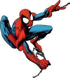 Marvel's Spider-Man - W. Looks like a Mark Bagley dwg Comic Book Characters, Marvel Characters, Comic Books Art, Comic Art, Spiderman Art, Amazing Spiderman, Marvel Art, Marvel Heroes, Mark Bagley