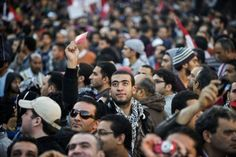 Protesters rallying in Cairo against Islamist President Mohamed Morsi say they are still using peaceful tactics for now -- but that their opposition movement could soon tip into violence.