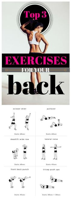 Top 3 Exercises for Your Back
