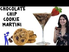 The Chocolate Chip Cookie Martini - TipsyBartender.com