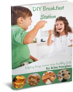 This one idea will change your busy mom life. Hello breakfast station. Good bye hectic mornings!