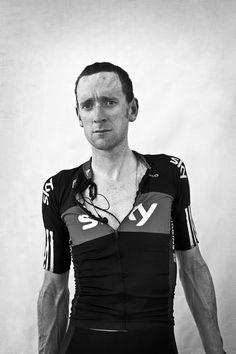 Bradley Wiggins, Tour de France winner 2012 (Photograph By Scott Mitchell).