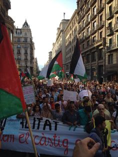 #barcelona for #palestine #freepalestine * Google the Greater Israel Map Plan and you will know why anti-Israel people are now called anti-semites and harassed for their jobs, good names, etc..The USA military learns about this, the Map has been planned 100 years..!*