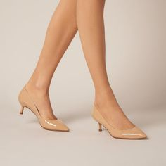 Audrey Trench Heel   Heels   Shoes   Collections   L.K.Bennett, London