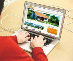 Desenvolvimento de site para o cliente: Casa Pronta Construsilva  www.casaprontaconstrusilva.com.br