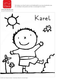 Karel in de lente Kindergarten Art, Feelings And Emotions, Pictogram, Reggio, Drawing For Kids, Teaching English, Hello Kitty, Snoopy, Learning