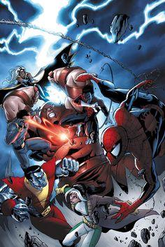 X-Men & Spider-Man Vs. Juggernaut