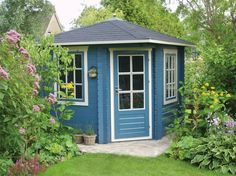 Daniel Corner Wooden Summerhouse / Log Cabin from Gazebo Direct