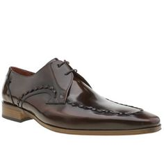 Jeffery West Brown Escobar Whip Mens Shoes Youre sure to look devilishly dapper with the Escobar Whip from Jeffery West on your feet. Crafted in brown glossy leather
