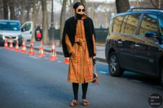 STYLE DU MONDE / Paris Men's Fashion Week Fall 2017 Street Style: Sherry Shen  // #Fashion, #FashionBlog, #FashionBlogger, #Ootd, #OutfitOfTheDay, #StreetStyle, #Style
