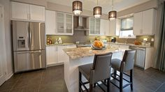 Lafayette Counter Stools - design by Monarch Homes