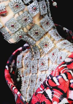 Jewelled Chainmail by Shaun Leane for Alexander McQueen