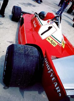 1976 British GP Niki Lauda on pole | First Austria Niki Lauda Ferrari 1:44:19.66 | Second South Africa Jody ScheckterTyrrell-Ford | Third UK John Watson Penske-Ford |