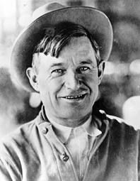 Will Rogers - Claremore, OK  A brilliant man with countless talents & a lot of wisdom.
