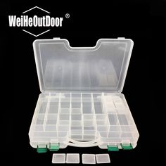 Cheap hook box, Buy Quality fishing hook case directly from China hook case Suppliers: WALK FISH PP Material Multi Functional Box Plastic Double-layer Fish Lure Fishing Tackle Hooks Box Case Fishing Tackle Box, Fishing Tips, Fishing Lures, Lure Box, Emergency First Aid Kit, One Fish, Survival Equipment, Dry Hands, Container
