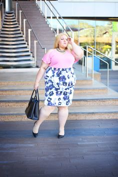 Plus Size Fashion - eloquii & boardroomblonde