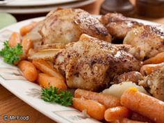Braised Chicken Thighs Dinner ~ EASY fix for the night I work late. Used part of a bag of small new potatoes, thickly sliced. Remember to skin the chicken!