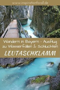 Leutaschklamm – wandern durch atemberaubendes Naturschauspiel Here you will find tips for your holiday in Bavaria in beautiful nature. The Leutaschklamm is an ideal destination for hiking in breathtak Europe Destinations, Holiday Destinations, Empire Romain, Destination Voyage, Culture Travel, Travel Goals, Travel Tips, Germany Travel, Outdoor Travel