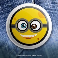Pin-Pin's take on these little yellow, goggle wearing, gibberish speaking underlings :) Poopaye and Tank yu… © 2015