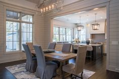 Gorgeous Formal Dining Room | Southern Style Interior Design | Lowcountry Living Decor Ideas | Luxury Real Estate Bluffton, South Carolina