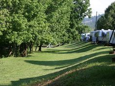 in Pigeon Forge, TN?  Try Creekside Campground.  Our family had a good time there while vacationing in the Smoky Mountains.