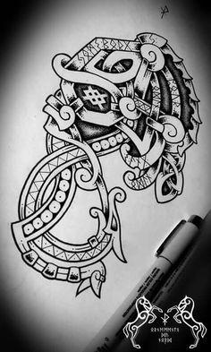 berserk dragon sean parry nordic pinterest id e tatouage tatouages et id e. Black Bedroom Furniture Sets. Home Design Ideas