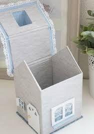 """Résultat de recherche d'images pour """"tuto boite à mouchoirs en carton"""""""