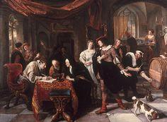 Religious Artist: The Marriage of Tobias and Sara (1667)