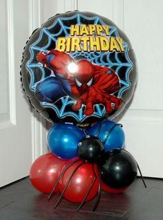 spiderman centerpieces - Google Search