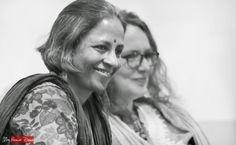 Asha Nehemiah, Sophie Benini Pietromarchi at Jumpstart-14, Bangalore (photo - Jim Ankan Deka)   More - http://www.musicmalt.com/2014/08/jumpstart-2014-bangalore.html