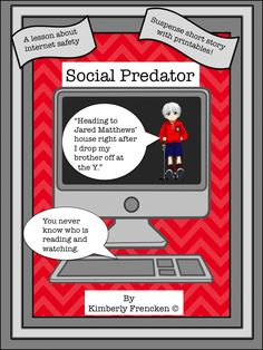Review and improve your student's reading skills with this suspenseful story about social media responsibility!