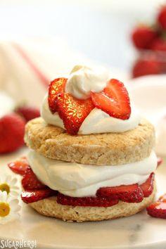 Grown-Up Strawberry Shortcake