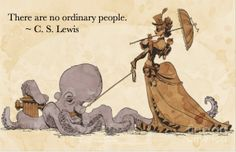 cs lewis. i dont know whats with the picture haha