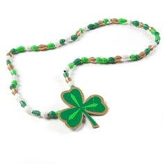 St Patricks Day Duck Tape Necklace