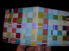 paint chip wallet