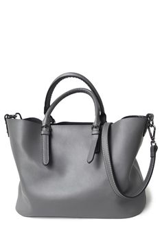 Pure Color Leather Tote Bag Click on picture to purchase!