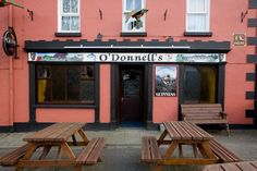 O'Donnell's Pub Inistioge - great pint - Inistioge is a beautiful and historic village on the river Nore in South Kilkenny.  Its special character has made it one of the most visited places in the South East of Ireland for many decades