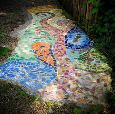 Must have this walkway along my art shed!!!