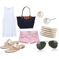 summer, created by ehmitzlaff on Polyvore