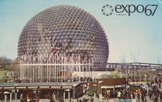 Pavilion of The United States at the World's Fair Expo in Montreal, Quebec, Canada Expo Montreal, Quebec Montreal, Montreal Ville, Montreal Canada, Ottawa, St Thomas Usvi, Light Fest, Expo 67, World's Fair