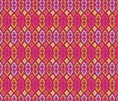 Bohemia-Leaves-Multi Color fabric by bohemiangypsyjane on Spoonflower - custom fabric