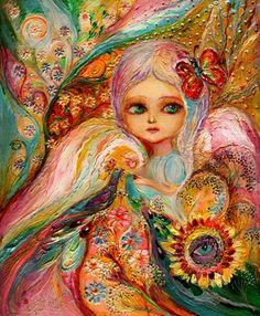 """Saatchi Art Artist Elena Kotliarker; Painting, """"My little fairy Estelle"""" #art"""
