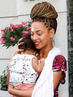 Beyonce and Blue Ivy!