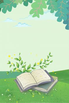 Pastel Background Wallpapers, Cute Pastel Wallpaper, Flower Background Wallpaper, Flower Backgrounds, Paper Background Design, Kids Background, Powerpoint Background Design, Reading Cartoon, Tree Drawings Pencil