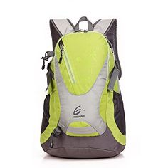 Skysper 25L Cycling Riding Running Camping Hiking Waterproof Outdoor Backpack Bag Green ** Learn more by visiting the image link.