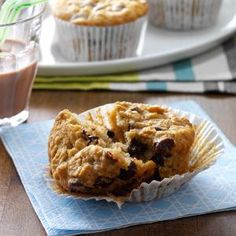60 Muffin Recipes Worth Waking Up For - Rise and shine—it's muffin time! Loads of recipes for homemade muffins like banana mocha-chip, blueberry yogurt, cream cheese raspberry and apple crunch ensure there won't be any sleepyheads at your breakfast table. (And they're just as tasty for lunch and dinner, too!)